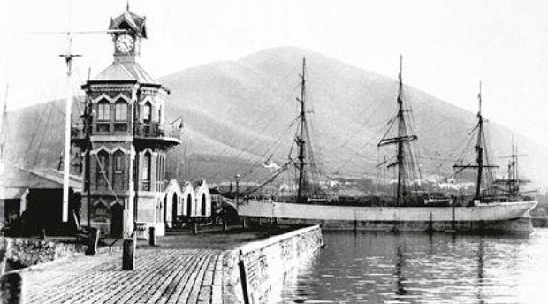 Clock Tower and Alfred basin V&A Waterfront