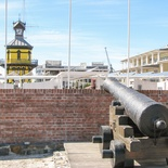 Chavonnes Battery ramparts, Clock Tower, V&A Waterfront