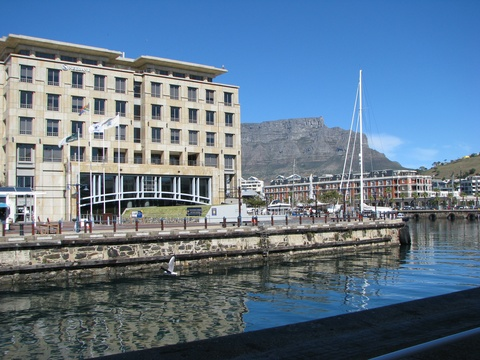 Chavonnes Battery Nedbank Building Clock Tower V&A Waterfront