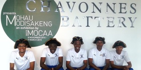 Chavonnes Battery Team unemployed youth and interns Tour Guides aspiring entrepreneurs