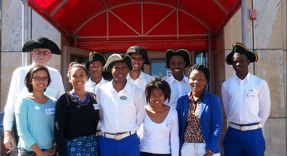 Chavonnes Battery Interns youth development storytelling history cape town