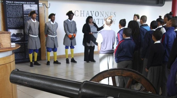 Guided Tour, History of Cape Town, School visit, Tourist Guide Incubator