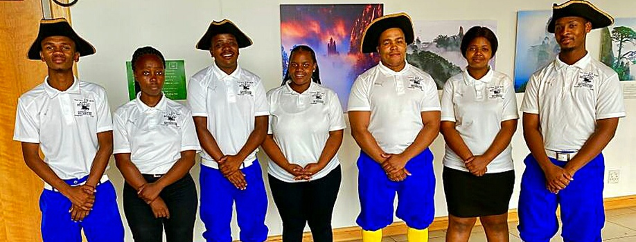 Interns, Chavonnes Battery Museum, CPUT, V&A Waterfront