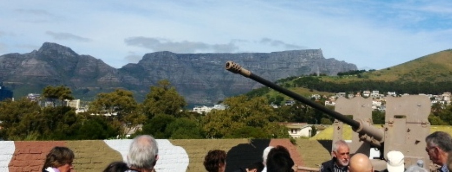 Fort Wynyard, Military history guided tours