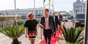 Prince Harry, WPY2015, Chavonnes Battery Museum, Red Carpet, V&A Waterfront