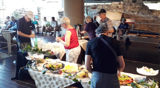 High Tea, Refreshments, Chavonnes Battery, Group Tour