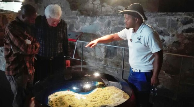 Museum Tour, History of Cape Town, Chavonnes Battery