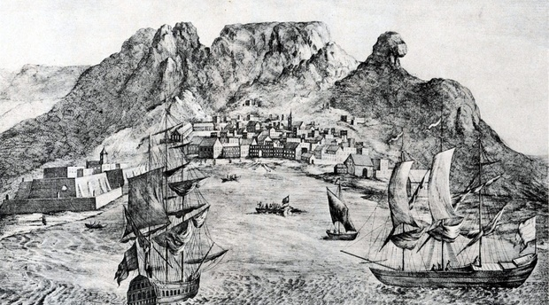 F Riedel, 1779, History of Cape Town, Chavonnes Battery, Afrikaans Article, Willem Steenkamp