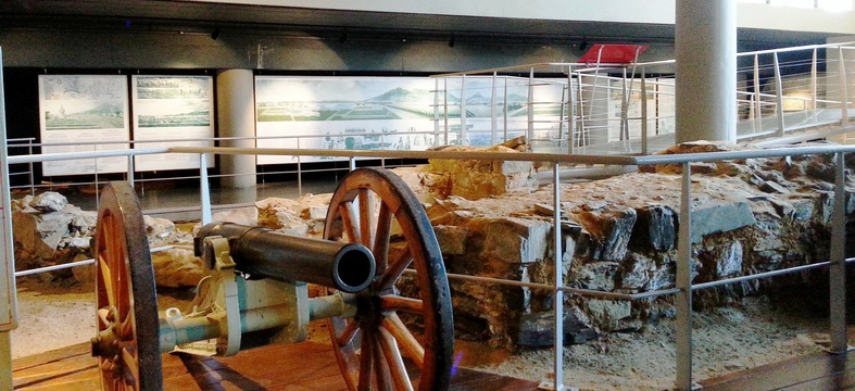 Field Gun, Archaeology Ruins, History of Cape Town